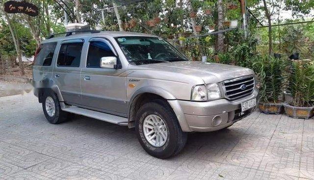 Bán Ford Everest đời 2006, màu bạc, xe nhập, giá 300tr