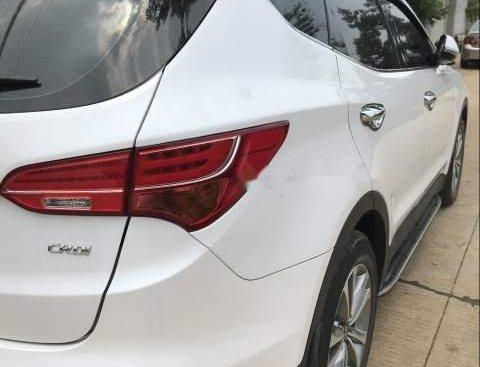 Bán xe Hyundai Santa Fe đời 2015, màu trắng, giá tốt