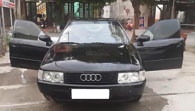 Bán xe Audi 200 sản xuất năm 1990, màu đen, nhập khẩu