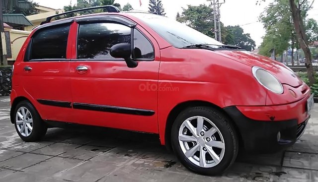Bán Daewoo Matiz SE năm sản xuất 2007, màu đỏ