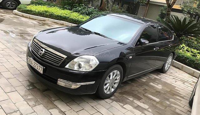 Bán Nissan Teana 2.0AT sản xuất 2007, màu đen, nhập khẩu