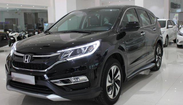 HCM: Honda CRV 2015, màu đen, xe đẹp 1 đời chủ