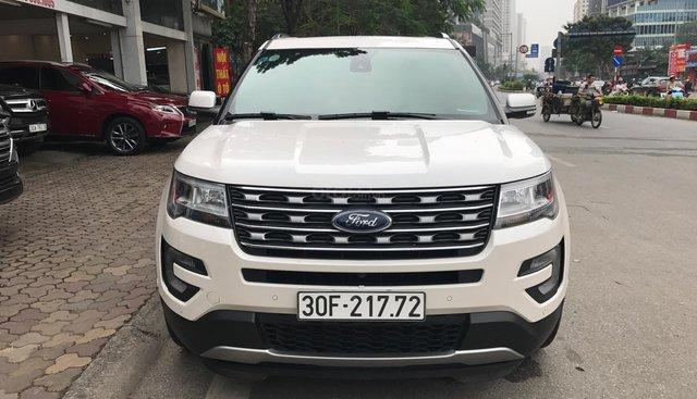 Ford Explorer Limited đăng ký lần đầu 2018