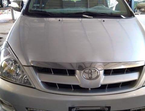 Bán Toyota Innova J sản xuất năm 2007, màu bạc, xe nhập, 247 triệu