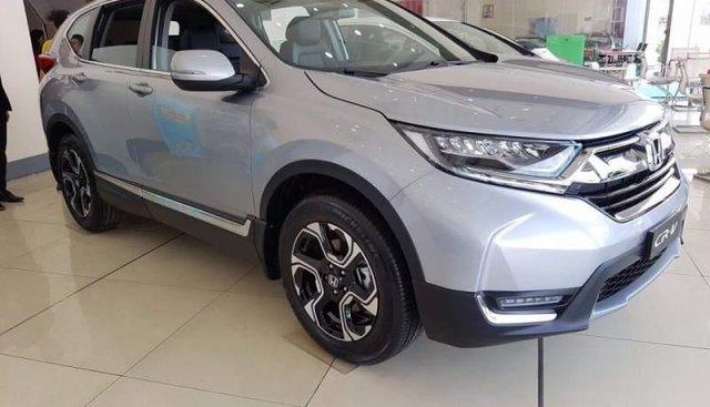 Bán Honda CR V 2019, màu bạc, nhập khẩu