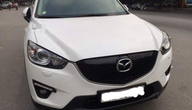 Bán Mazda CX 5 2015, màu trắng chính chủ