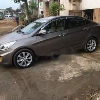 Bán ô tô Hyundai Accent sản xuất năm 2014, màu nâu chính chủ giá cạnh tranh