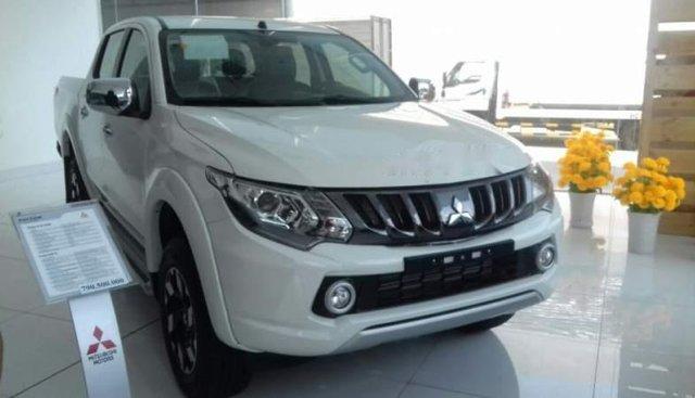 Bán Mitsubishi Triton đời 2018, màu trắng, nhập khẩu