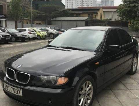 Bán BMW 3 Series 318i năm 2003, màu đen xe gia đình, giá chỉ 185 triệu