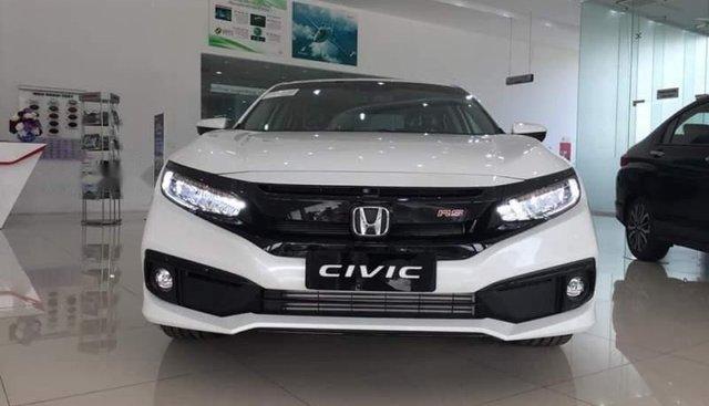 Bán Honda Civic 2019, màu trắng, xe nhập giá cạnh tranh