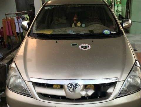 Bán Toyota Innova đời 2006, màu ghi vàng