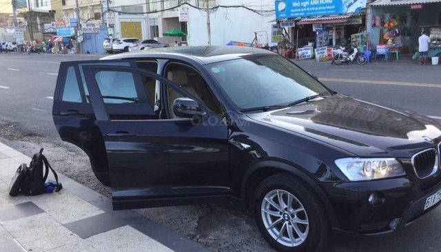 Xe BMW X3 2012, màu đen, nhập khẩu như mới giá cạnh tranh