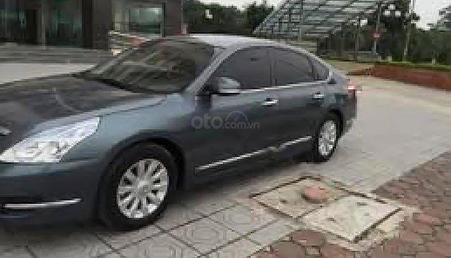 Cần bán xe Nissan Teana AT 2009, màu xanh lam, nhập khẩu, giá tốt