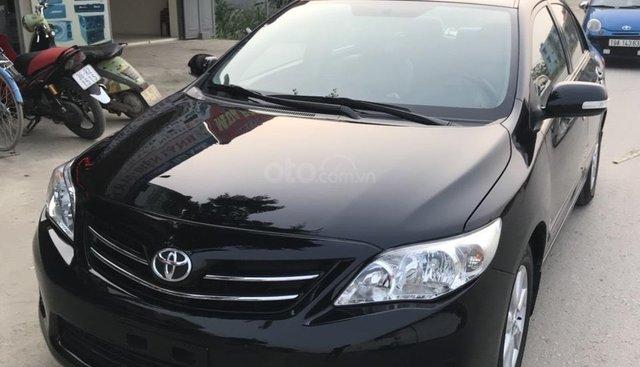 Bán ô tô Toyota Corolla altis 1.8G AT đời 2013, màu đen