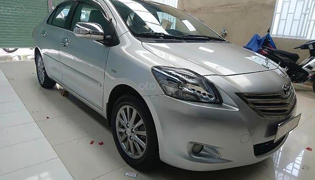 Bán Toyota Vios 1.5G đời 2012, màu bạc xe gia đình, giá tốt
