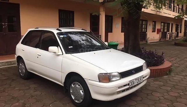 Xe Toyota Starlet 1995, màu trắng, xe nhập số sàn, giá tốt