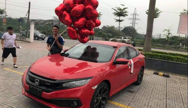 Bán xe Honda Civic 2019, màu đỏ, nhập khẩu