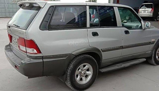Bán xe Ssangyong Musso năm 2004, màu bạc