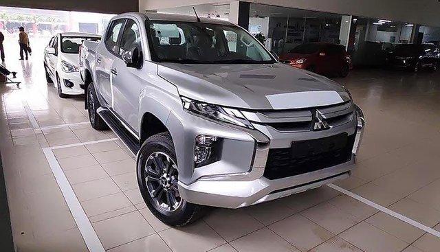 Bán Mitsubishi Triton sản xuất năm 2019, màu bạc, nhập khẩu nguyên chiếc