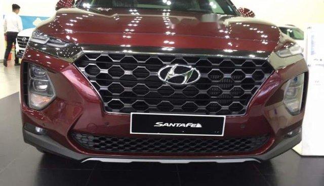 Bán ô tô Hyundai Santa Fe đời 2019, màu đỏ, xe nhập