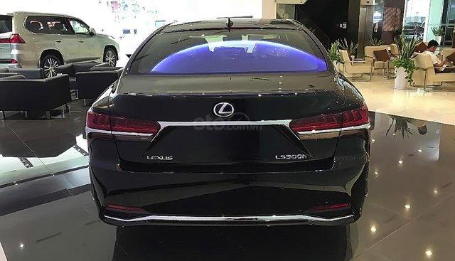 Bán ô tô Lexus LS 500h 2019, màu xanh lam, nhập khẩu