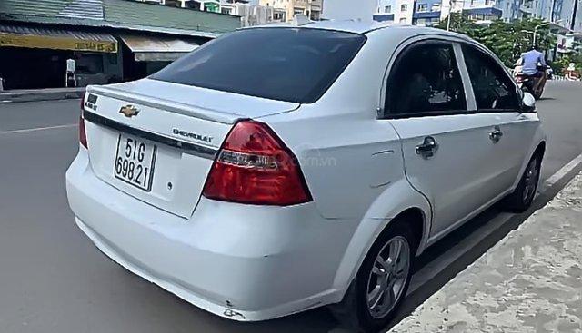 Cần bán gấp Chevrolet Aveo LT 1.4 2018, màu trắng, 368tr