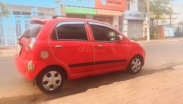 Bán Chevrolet Spark LT 0.8 MT đời 2009, màu đỏ, xe gia đình
