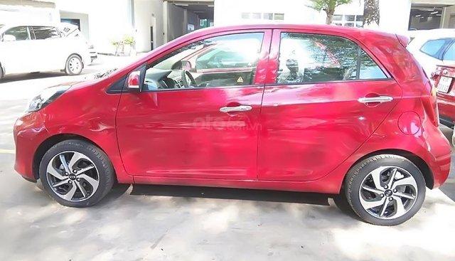 Bán xe Kia Morning AT đời 2019, màu đỏ, giá 355tr