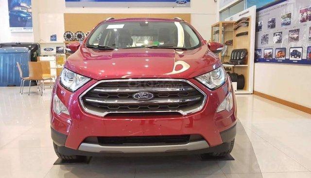 Bán Ford EcoSport titanium sản xuất 2019, đủ màu, trả góp chỉ 200 triệu