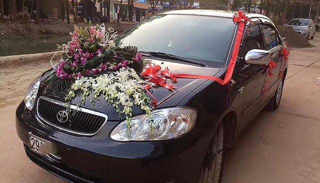 Bán xe Toyota Corolla altis 1.8G MT năm 2004, màu đen