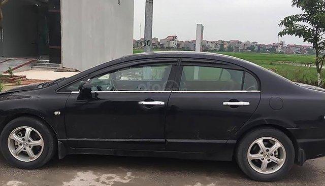 Bán Honda Civic màu đen, đời 2007, máy êm ru