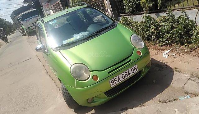 Cần bán xe Daewoo Matiz SE sản xuất năm 2008, màu xanh lam
