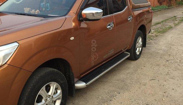 Bán Nissan Navara E đời 2015, màu cam, nhập khẩu nguyên chiếc
