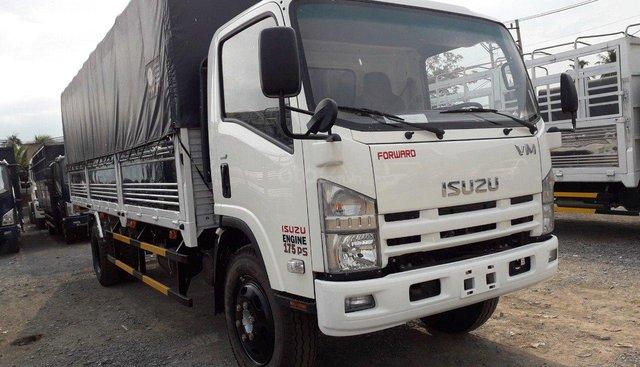 Bán xe Isuzu 8T2 VM thùng bạt 2019 nhập khẩu
