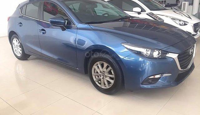 Bán ô tô Mazda 3 1.5 AT đời 2018, màu xanh lam