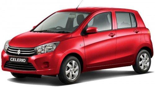 Bán xe Suzuki Celerio 1.0 AT đời 2019, màu đỏ, giá tốt