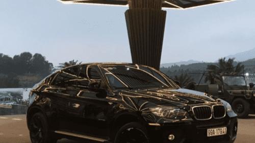 Bán BMW X6 3.5 AT 2008, màu đen, nhập khẩu, giá chỉ 835 triệu