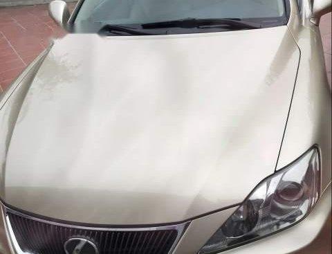 Bán Lexus IS 250 đời 2006, màu vàng, nhập khẩu, giá 580tr