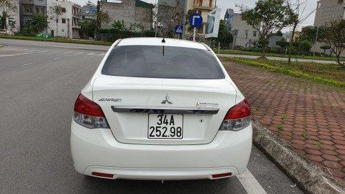 Bán Mitsubishi Attrage 1.2 AT sản xuất 2018, màu trắng, xe gia đình