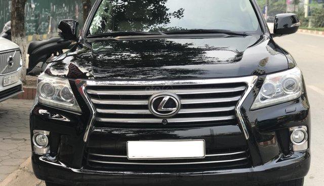 Cần bán gấp Lexus LX 570 sản xuất 2012 màu đen, giá tốt nhập khẩu