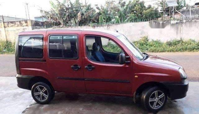Cần bán gấp Fiat Doblo sản xuất 2003, màu đỏ, xe còn đăng kiểm