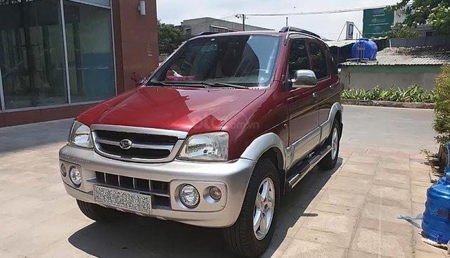 Bán Daihatsu Terios năm sản xuất 2007, màu đỏ, xe gia đình