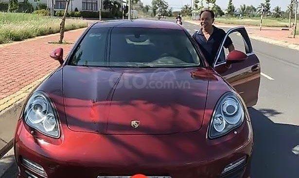 Bán Porsche Panamera 2010, màu đỏ, nhập khẩu