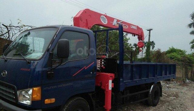 LH: 0901 47 47 38 - Xe tải cẩu Hyundai 6 tấn, thùng 4.3m, mới 100%