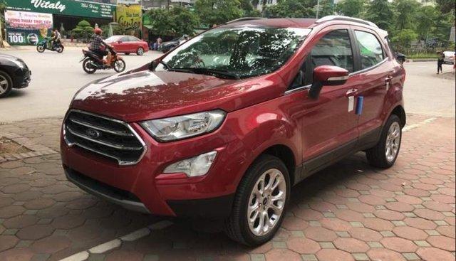 Cần bán xe Ford EcoSport năm sản xuất 2019, màu đỏ, giá chỉ 610 triệu