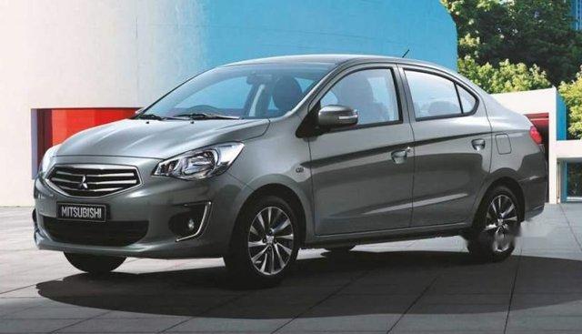 Cần bán Mitsubishi Attrage năm 2019, màu xám, xe nhập, giá 375.5tr