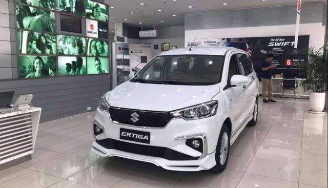 Cần bán xe Suzuki Ertiga sản xuất năm 2019, màu trắng, nhập khẩu nguyên chiếc, giá 499tr