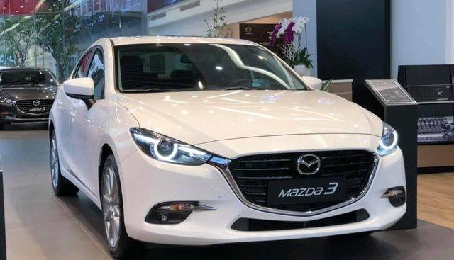 Bán ô tô Mazda 3 1.5 Sedan năm sản xuất 2019, màu trắng