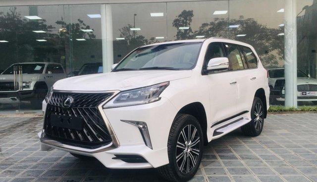 Bán xe Lexus LX 570 Super Sports Sx 2018, màu trắng, nhập khẩu Trung Đông LH: 0982.84.2838