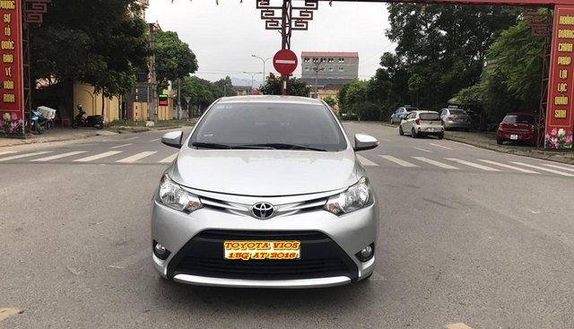 Bán ô tô Toyota Vios 1.5 G đời 2016, màu bạc. Xe Lướt 1vạn nên còn mới